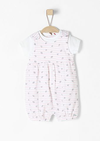 Gemusterter 2-in-1-Jumpsuit для Babys