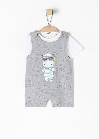 2-in-1-Overall с футболка для Babys