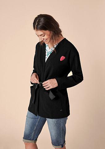 Пиджак длинный из Double-Face-Jersey