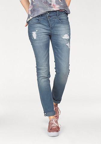 LAURA SCOTT 7/8 джинсы