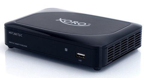 XORO Multimediabox WLAN incl. DVB-T2/C HD-R...