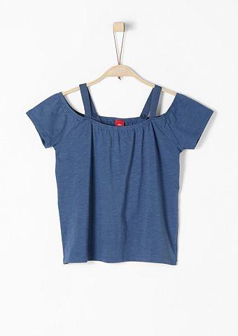 Off рубашка с голыми плечами из Slub Y...