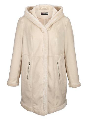 MIAMODA Куртка в качествeнный Lammfell-Optik