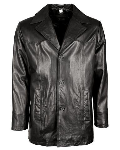 JCC Куртка кожаная с красивый воротник &ra...