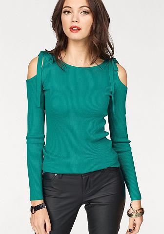 MELROSE Пуловер с круглым вырезом