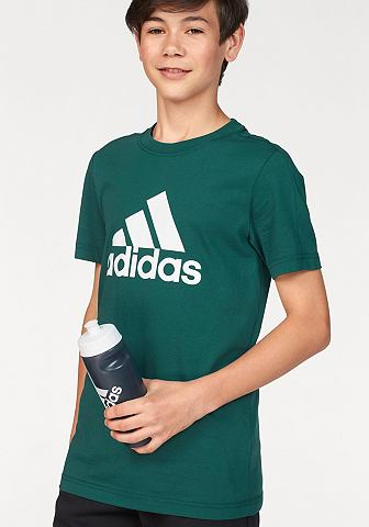 ADIDAS PERFORMANCE Футболка »YOUTH BOYS LOGO TEE&la...