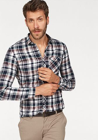 TOM TAILOR DENIM Tom Tailor джинсы рубашка в клетку