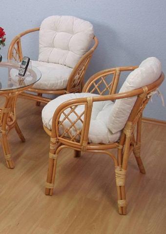 Комплект: кресло плетеное (2 ч. компле...