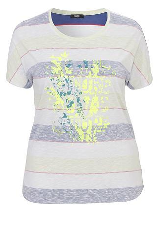 FRAPP Sommerliches футболка с узор и Motiv