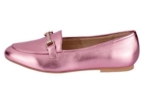 Туфли-слиперы в модный Metalliclook
