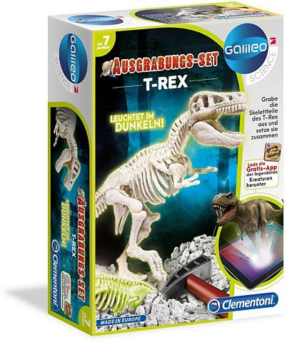 CLEMENTONI Dinosaurier - Skelett »Ausgrabun...