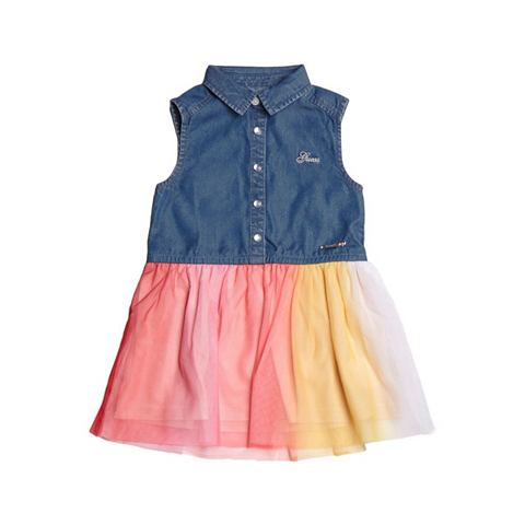 Платье джинсовое юбка MEHRFARBIG