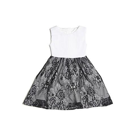 Платье кружевная юбка