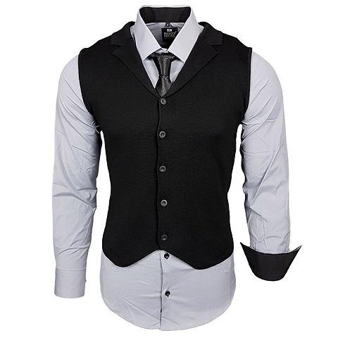 Hemdenset с жилет и галстук