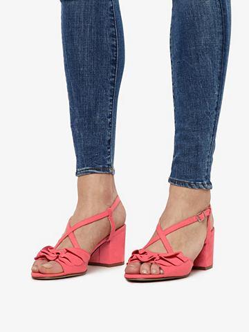 Gerüschte Blockabsatz сандалии