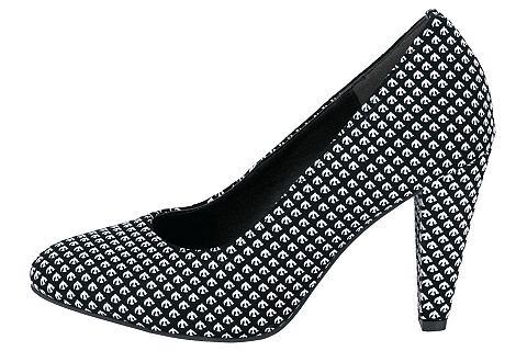 Туфли с стильный повторяющийся узор