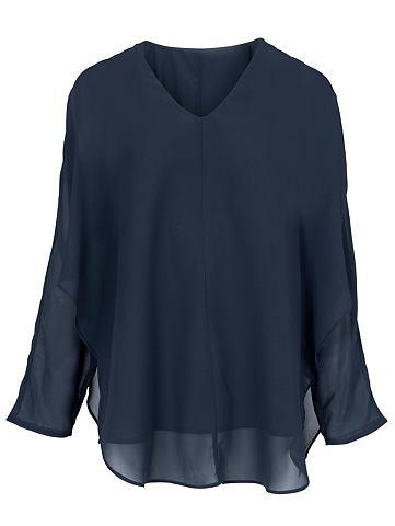 Блуза с angeschnittenen рукав