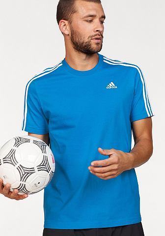 ADIDAS PERFORMANCE Футболка »ESSENTIALS 3 STRIPES T...