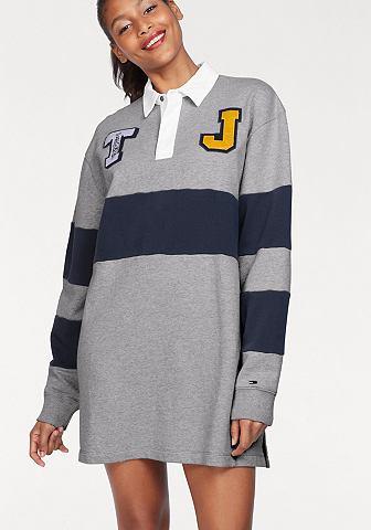 TOMMY JEANS TOMMY джинсы платье спортивного стиля