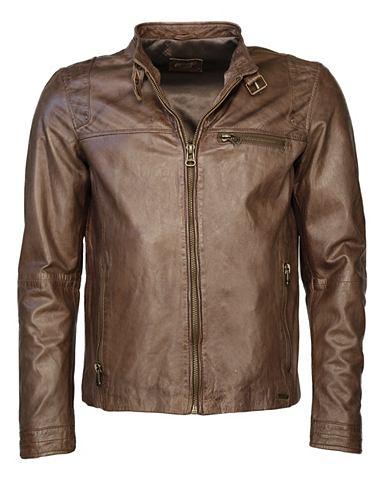 MAZE Куртка кожаная с карман »Puckham...