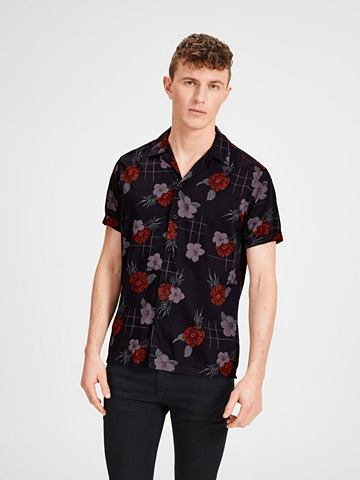 JACK & JONES Jack & Jones Hawaii рубашка с коро...