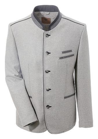 Пиджак в национальном стиле с разрез с...