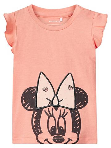 Minnie Mouse узор футболка