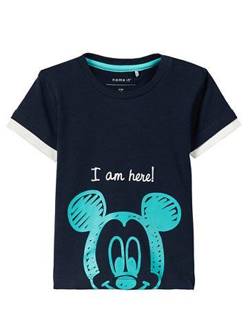 Mickey Mouse узор футболка