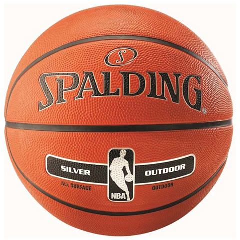 NBA Silver Outdoor Basketball