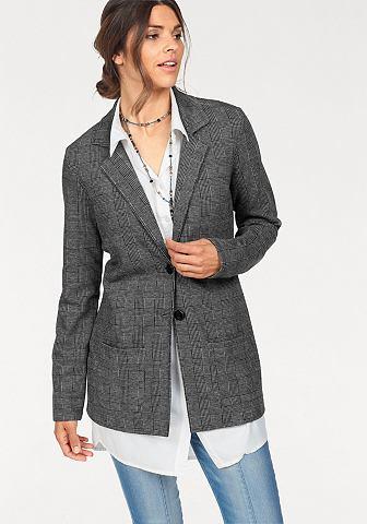 Пиджак длинный »Glencheck«...