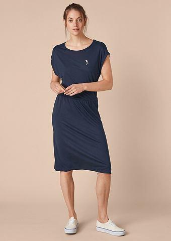 Платье из джерси с пуговица Pin