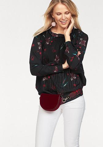Блузка с набивным рисунком