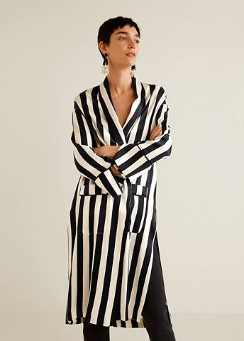 Stripes атлас кафтан
