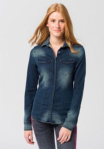 Джинсовая блузка »Lilien Denim&l...