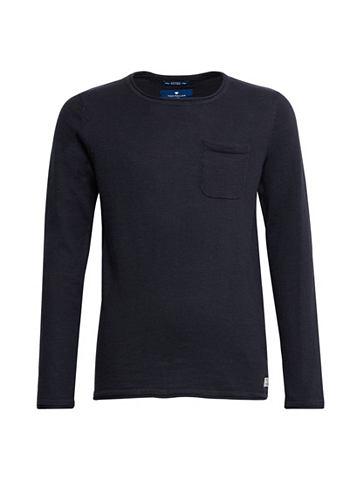Трикотажный пуловер Свитер с Brusttasc...