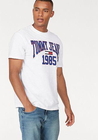 TOMMY джинсы футболка »TJM COLLE...