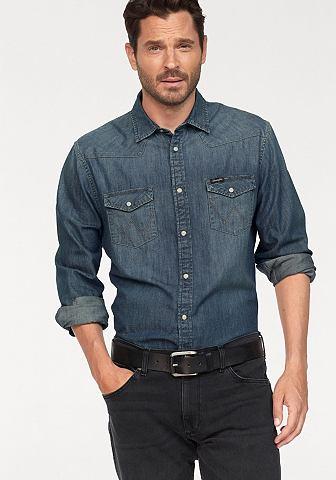 WRANGLER Рубашка джинсовая