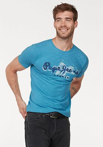 Pepe джинсы блуза с круглым вырезом &r...