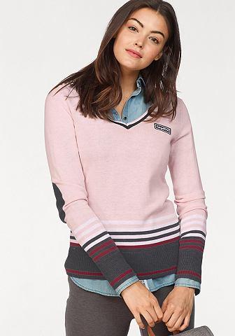 KANGAROOS Kanga ROOS пуловер с V-образным вырезо...