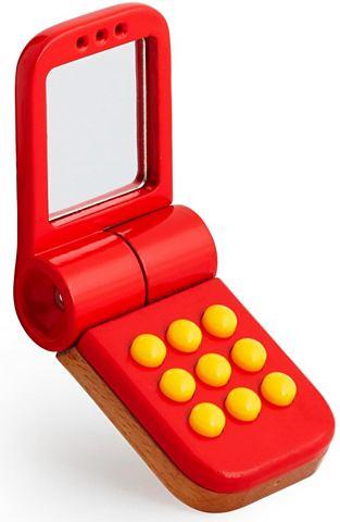 ® Игрушочный телефон из дерево &ra...