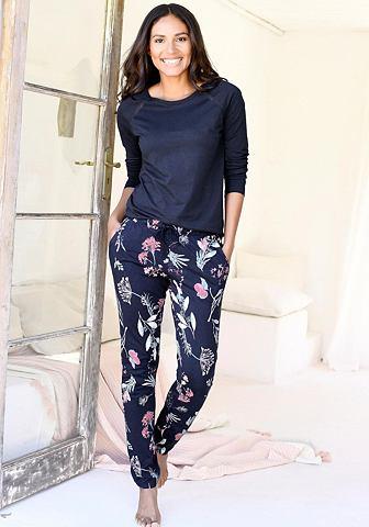 RED LABEL Bodywear брюки с цветочный у...