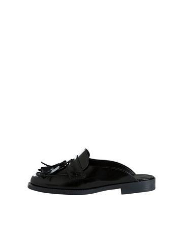 Кожа Mule ботинки