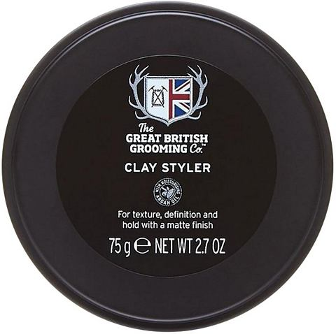 "THE GREAT BRITISH GROOMING CO. Haargel ""Clay Styler"" mittle..."