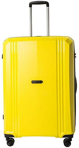 EPIC Пластиковый чемодан на колесах с 4 Дво...