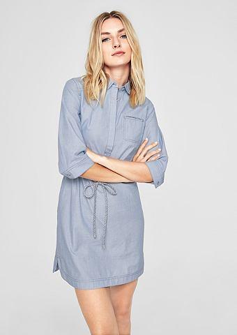 Платье с плетеный узор