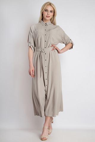 FINN FLARE Платье макси, длинное с стильный ремен...