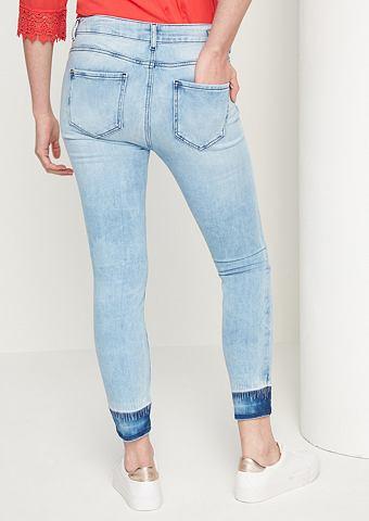 Узкие джинсы в Cropped-Länge