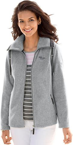Флисовая куртка с durchgehendem замок