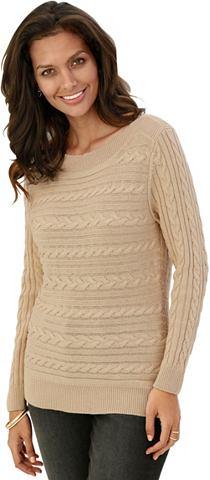 Пуловер с hübschem стежка