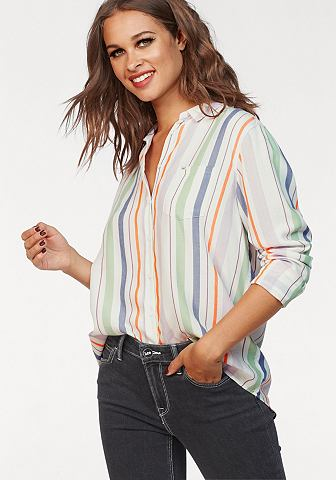 ® блузка »Colorblocking&laqu...
